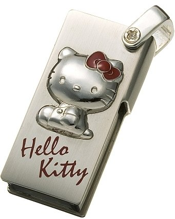... on Engadget ). This is a IO-DATA Sanrio Kitty 512MB USB flash drive